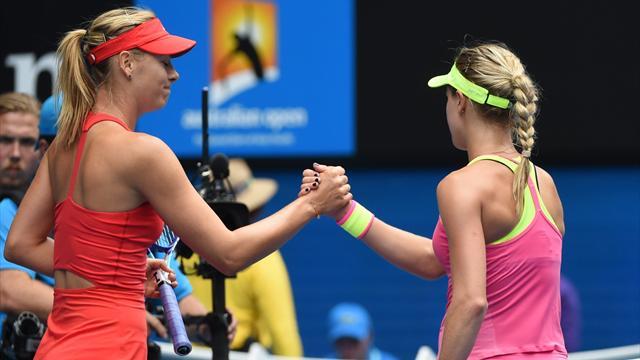 Tennis : Sharapova n'a fait qu'une bouch�e d'Eugenie
