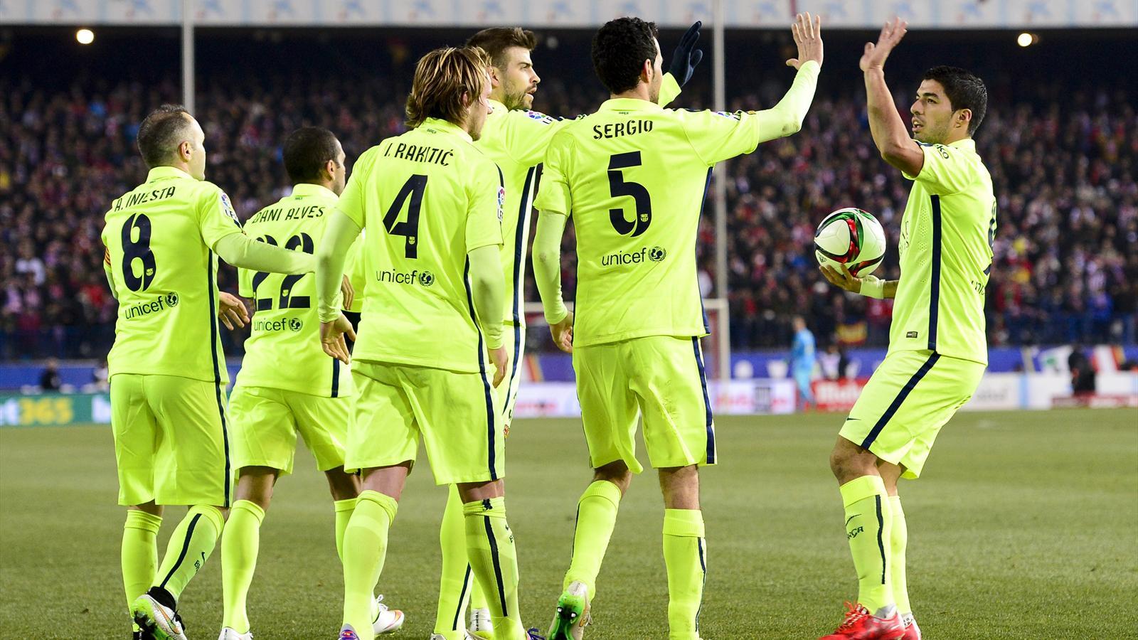 Le Barça est resté maître dans un match fou