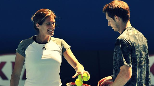 Mauresmo opens up about why her time with Murray came to an end