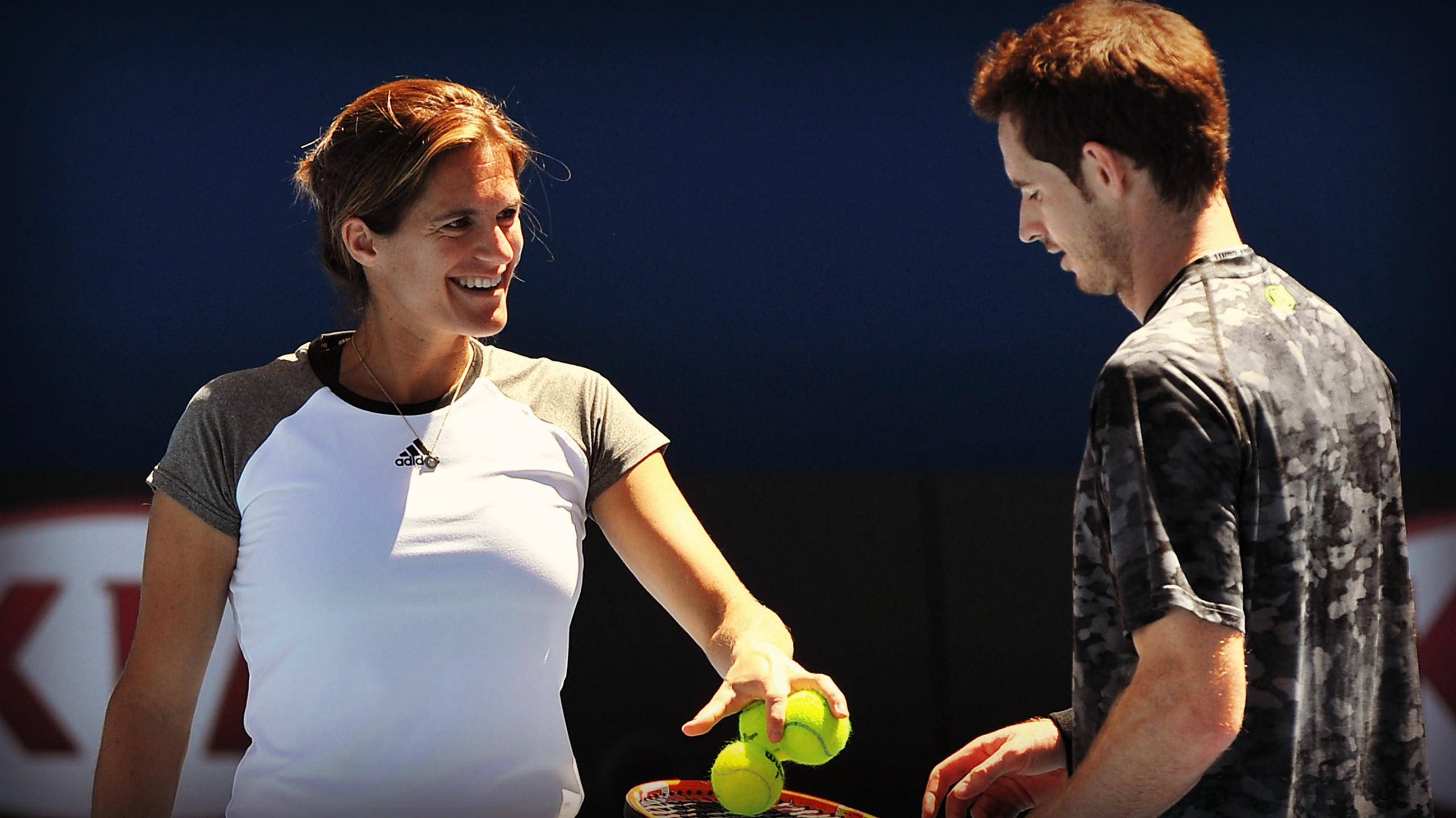 Amélie Mauresmo et Andy Murray, un duo qui fonctionne