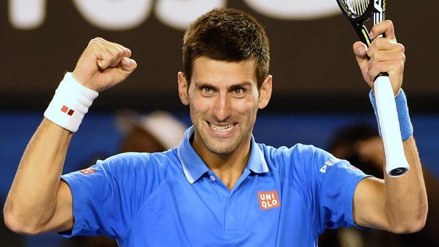Djokovic a encore bataillé 5 sets contre Wawrinka, mais il a eu le dernier mot