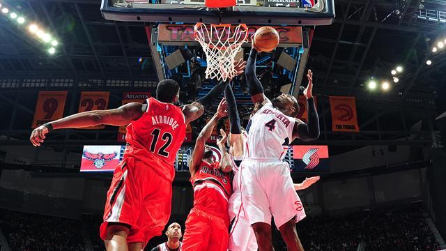 Atlanta puissance 18, Golden State encore battu : ce qu'il ne fallait rater de la nuit NBA