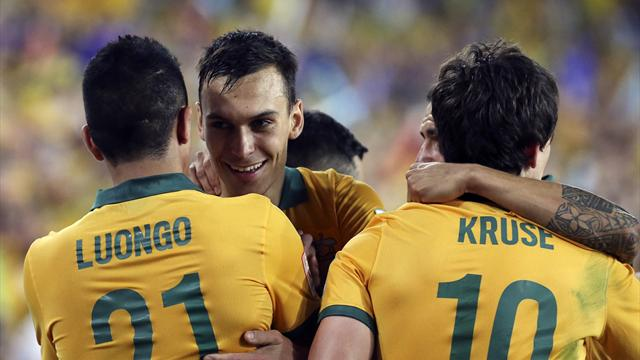 Australia beat South Korea after extra time to win Asian Cup