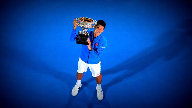 Les 6 stats qui font de Djokovic un g�ant du Grand Chelem