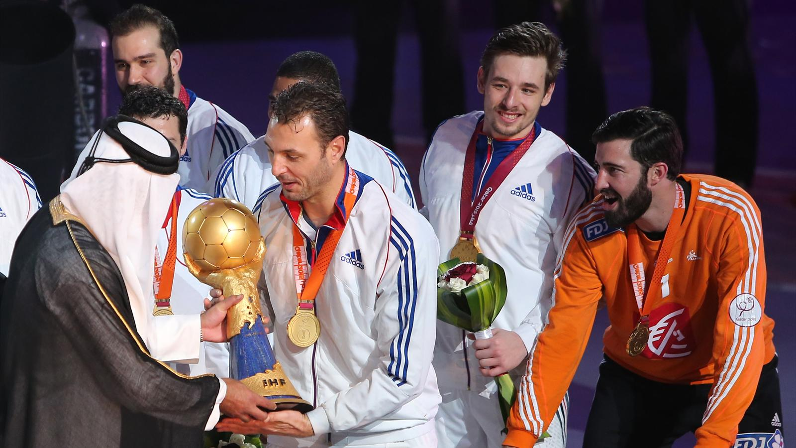 Championnat du monde dans l histoire du sport aussi l 39 quipe de france occupe une place - Coupe du monde 2015 handball ...