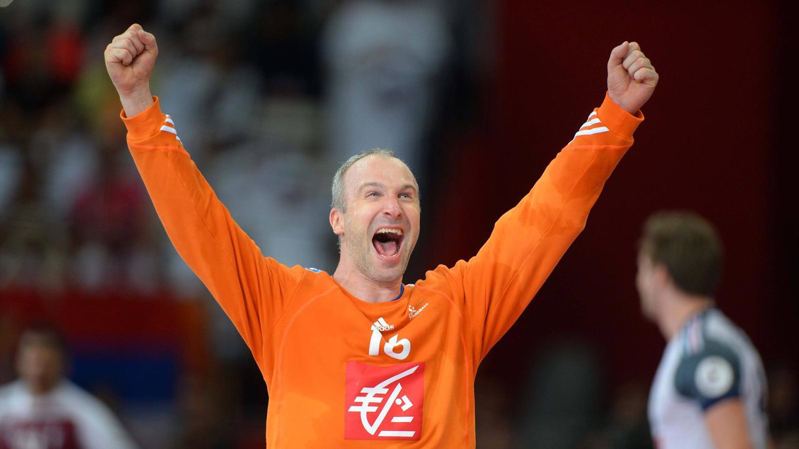 Mondial 2015 thierry omeyer la victoire dans la peau championnat du monde 2015 handball - Coupe du monde 2015 handball ...