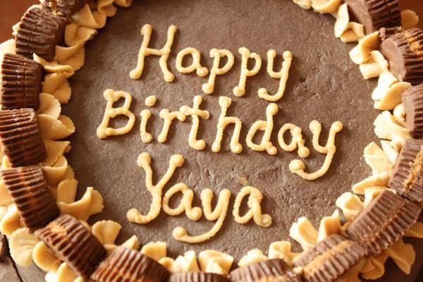 A cake for Yaya Toure