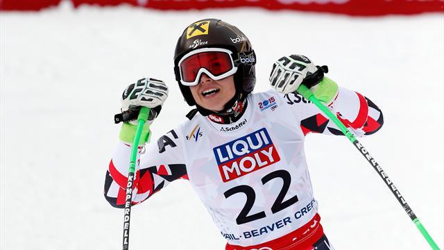 Après l'or olympique, Fenninger devient la reine mondiale du Super-G