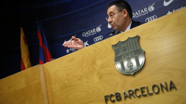 Elu triomphalement, Bartomeu reste aux commandes du Barça