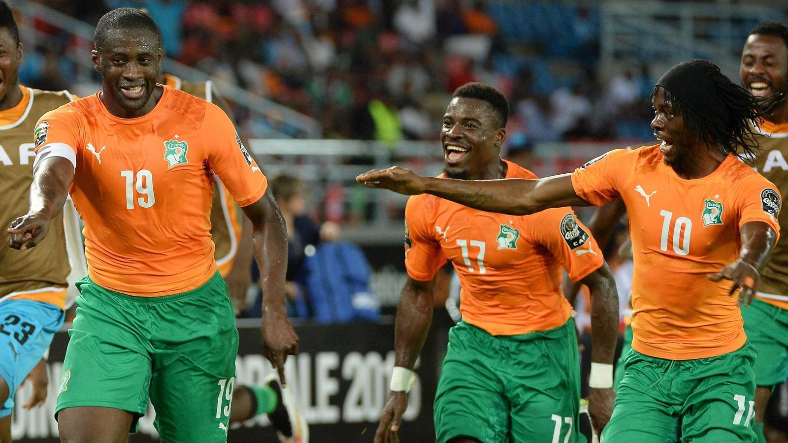 Can 2015 la c te d 39 ivoire en finale apr s sa victoire contre la r publique d mocratique du - Resultat foot coupe d afrique ...