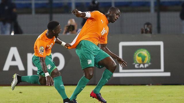 Afrika Uluslar Kupası'nda ilk finalist Fildişi Sahili