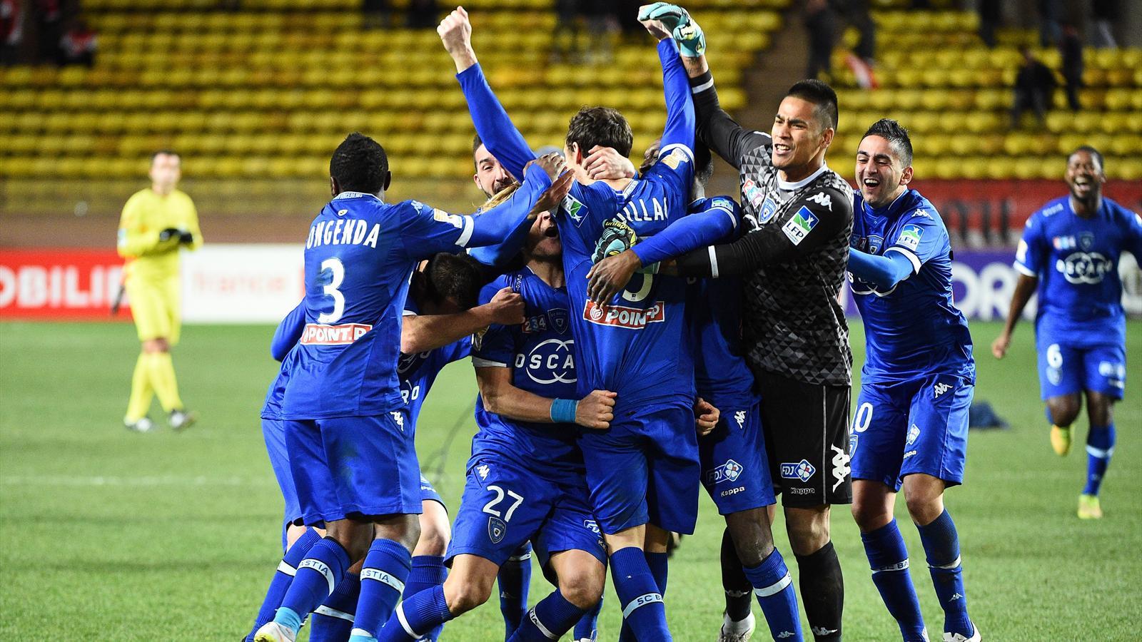 Coupe de la ligue bastia rejoint le psg en finale en liminant monaco aux tirs au but coupe - Coupe de la ligue finale 2015 ...