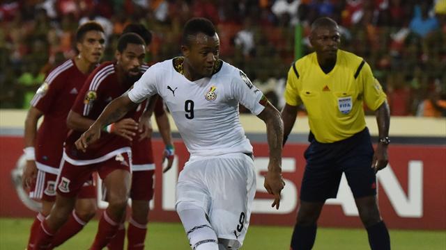 Olaylı maçta Gana, Ekvator Ginesi'ni geçip finale çıktı