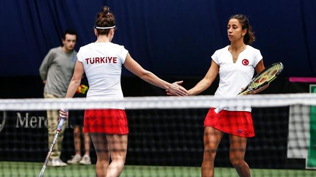 Fed Cup Tenis Turnuvası'na veda ettik
