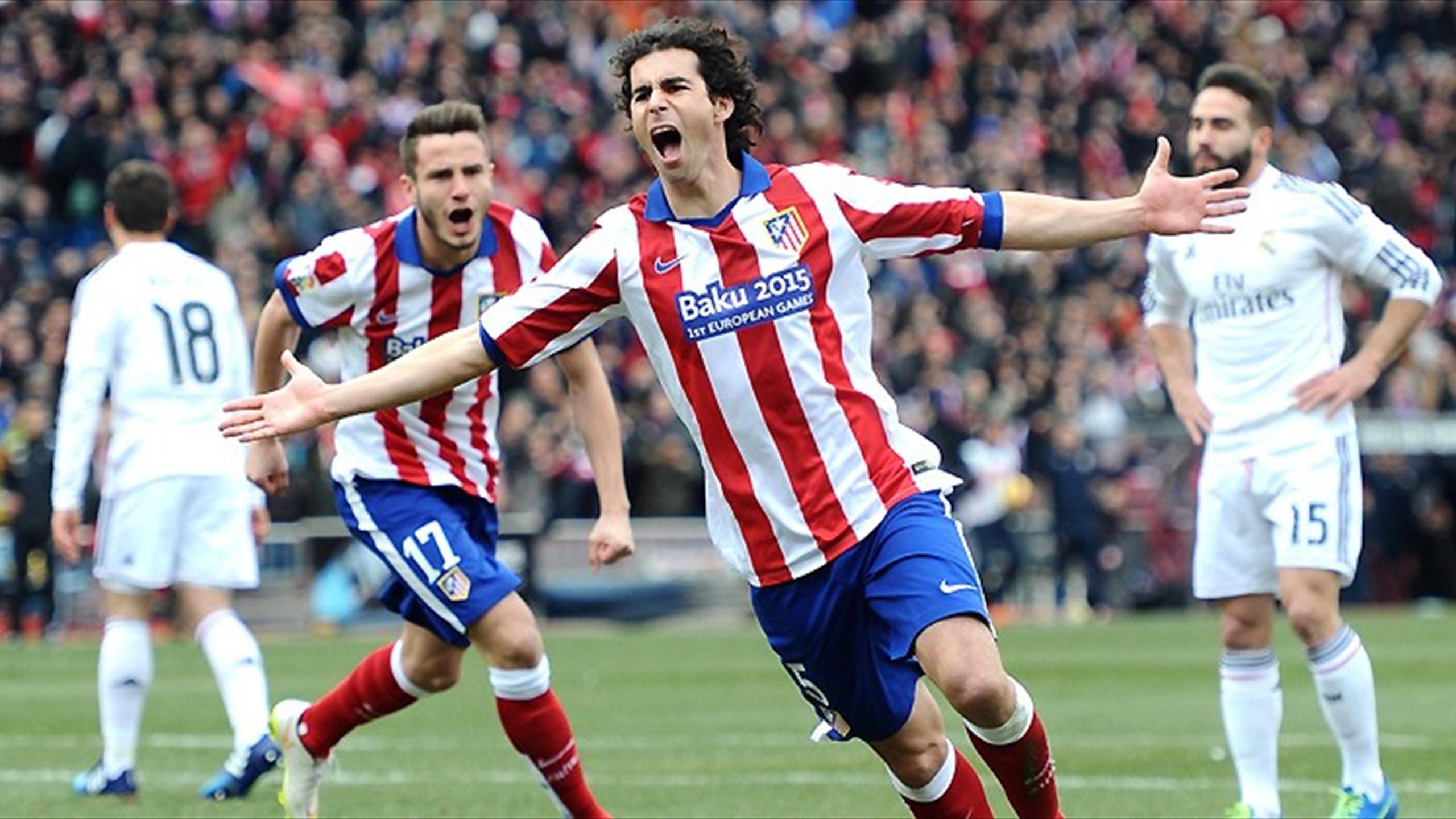 Atletico Madrid Run Riot Over Rivals Real Eurosport