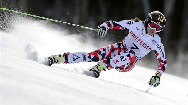 Fantasque et fantastique, Fenninger a skié sur sa planète en géant
