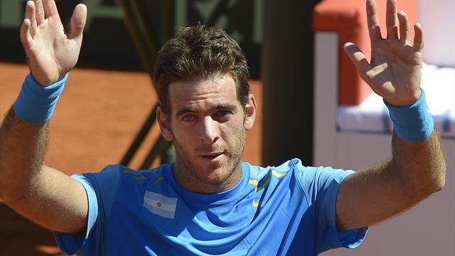 Дель Потро вышел в полуфинал турнира в Делрэй-Бич после 11 месяцев без тенниса
