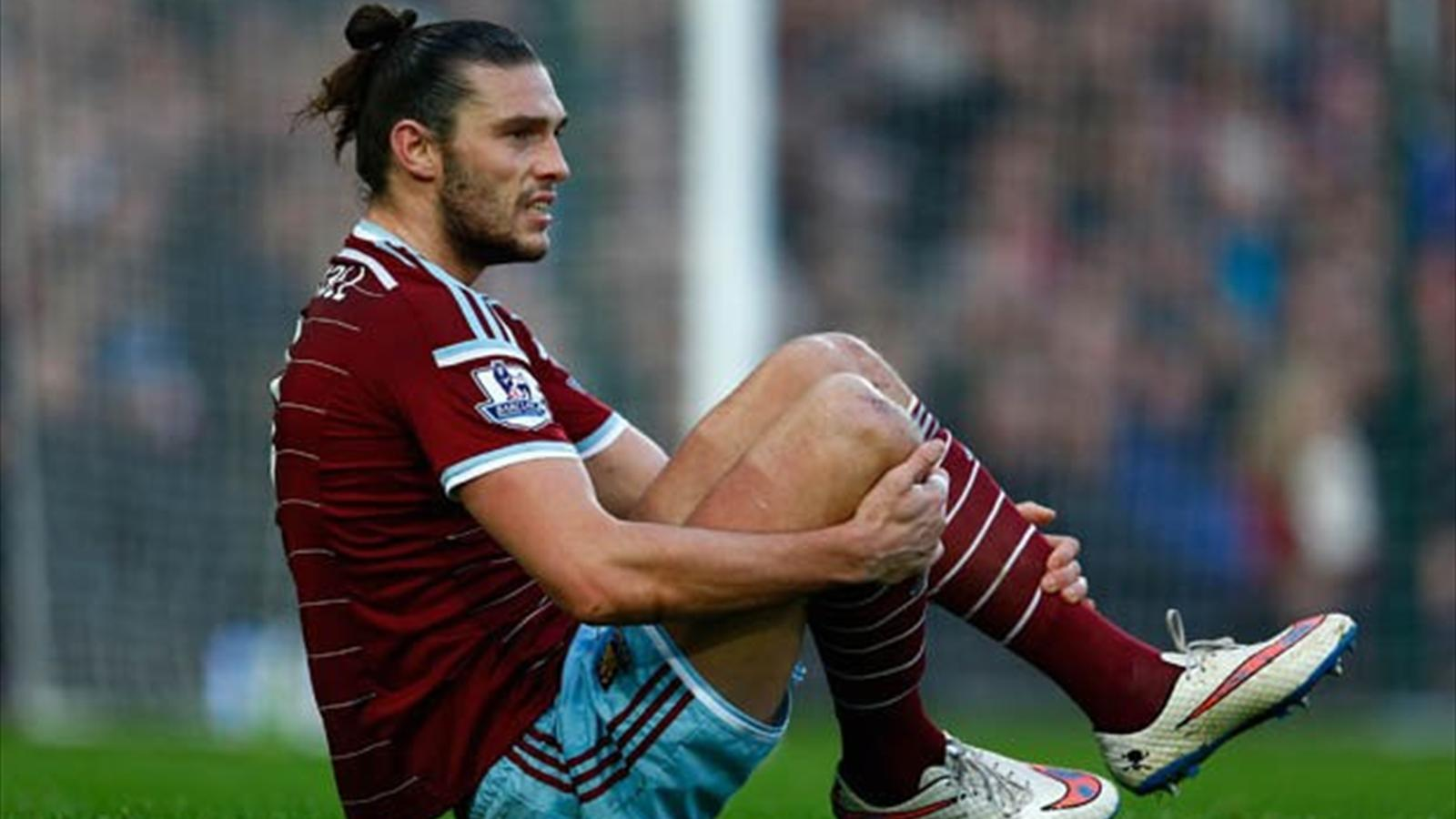 Andy Carroll has struggled with injuries since his permanent move to West Ham
