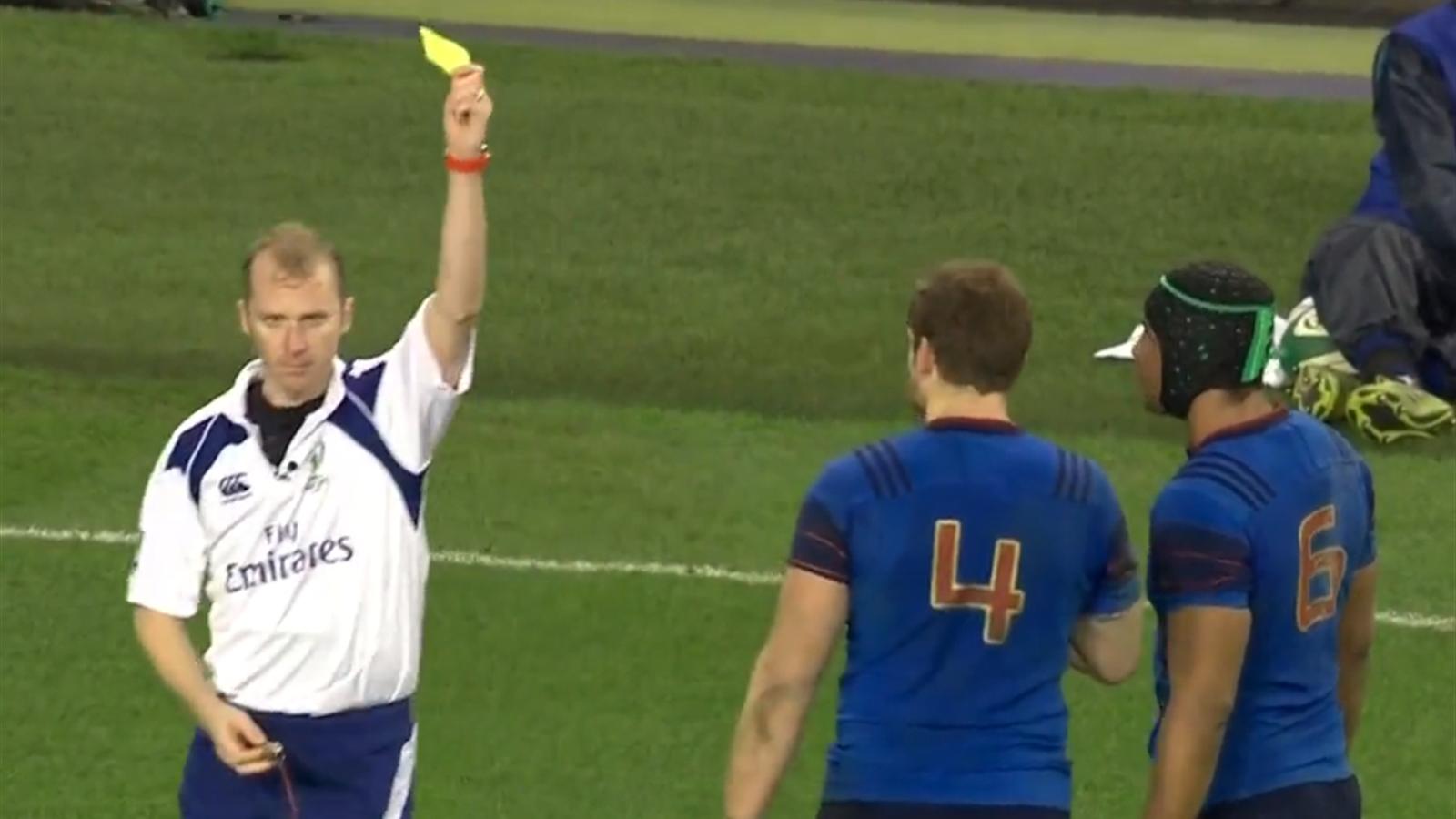 Tournoi des 6 nations pap un coup de genou stupide sur heaslip 6 nations 2015 rugby - Coupe des 6 nations 2015 ...