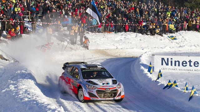 Neuville extends lead ahead of final day of Sweden Rally