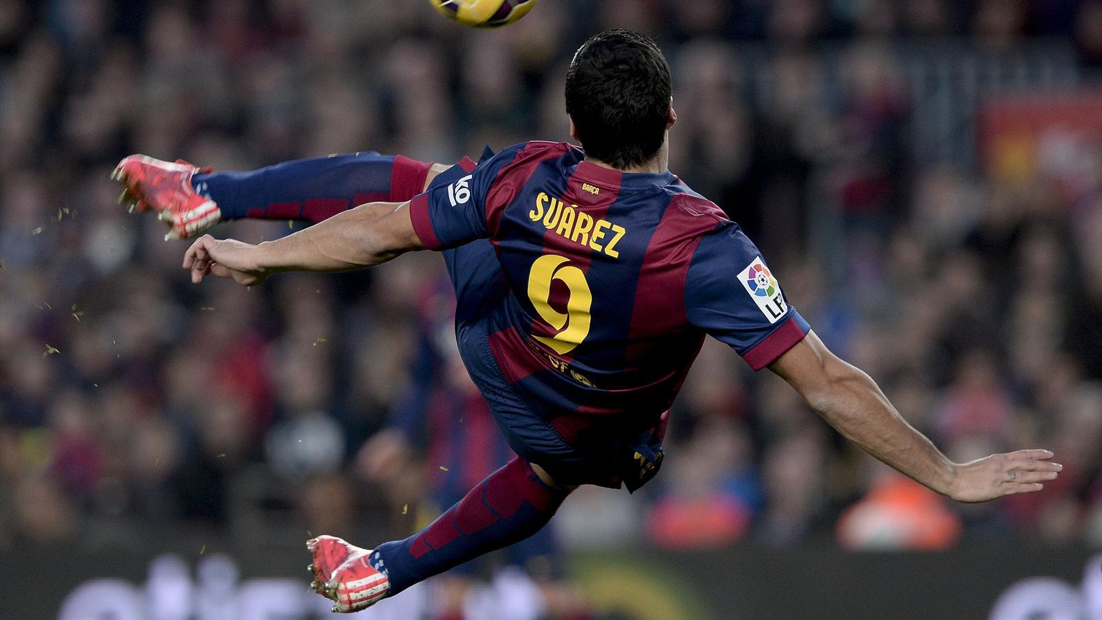 Luis Suarez - FC Barcelone Barça 2015