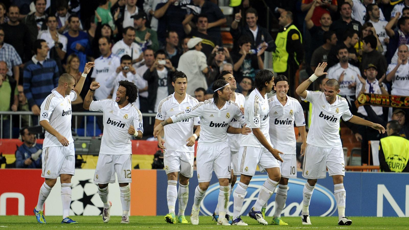 La victoire du Real Madrid face à l'OL (4-0) saison 2011 - 2012