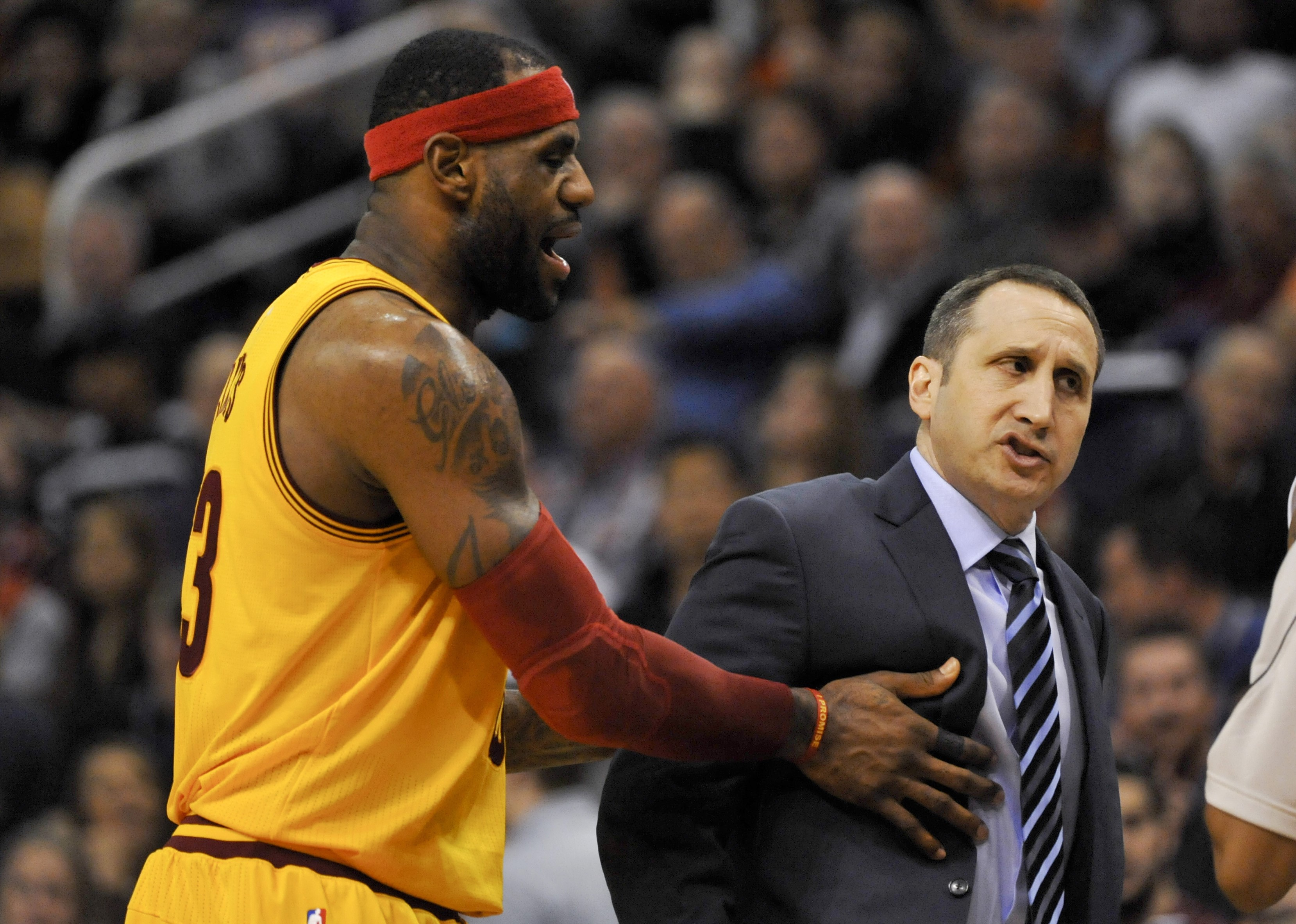 LeBron James, David Blatt