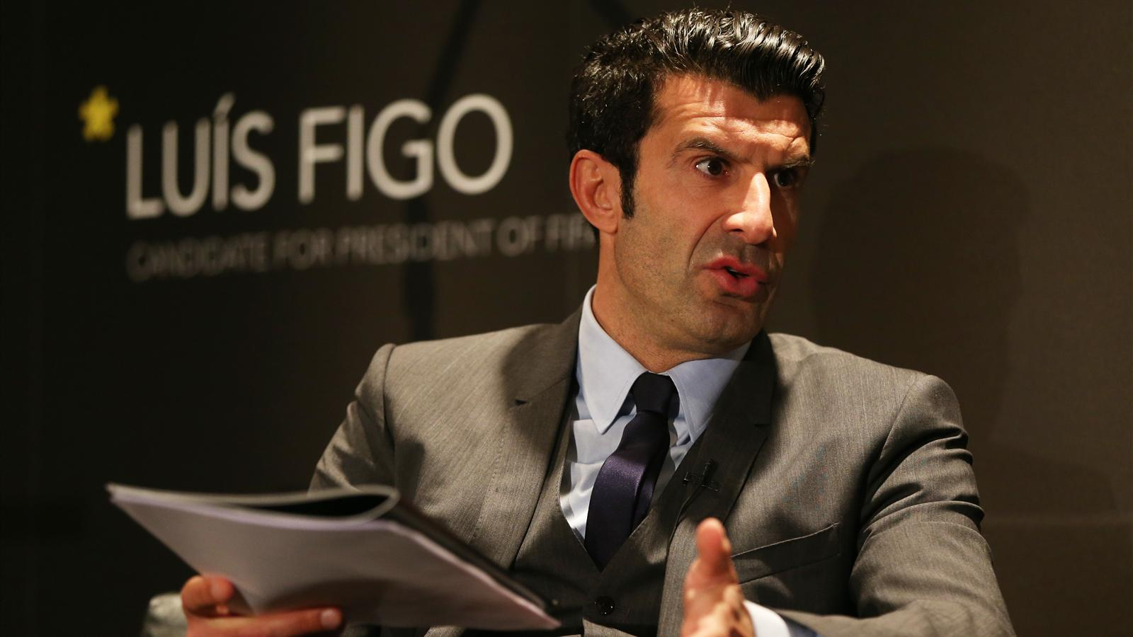 I want to fix FIFA says Luis Figo as he plans 48 team World Cup
