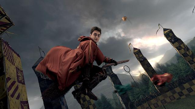 Muggle'lar quidditch arenasında!