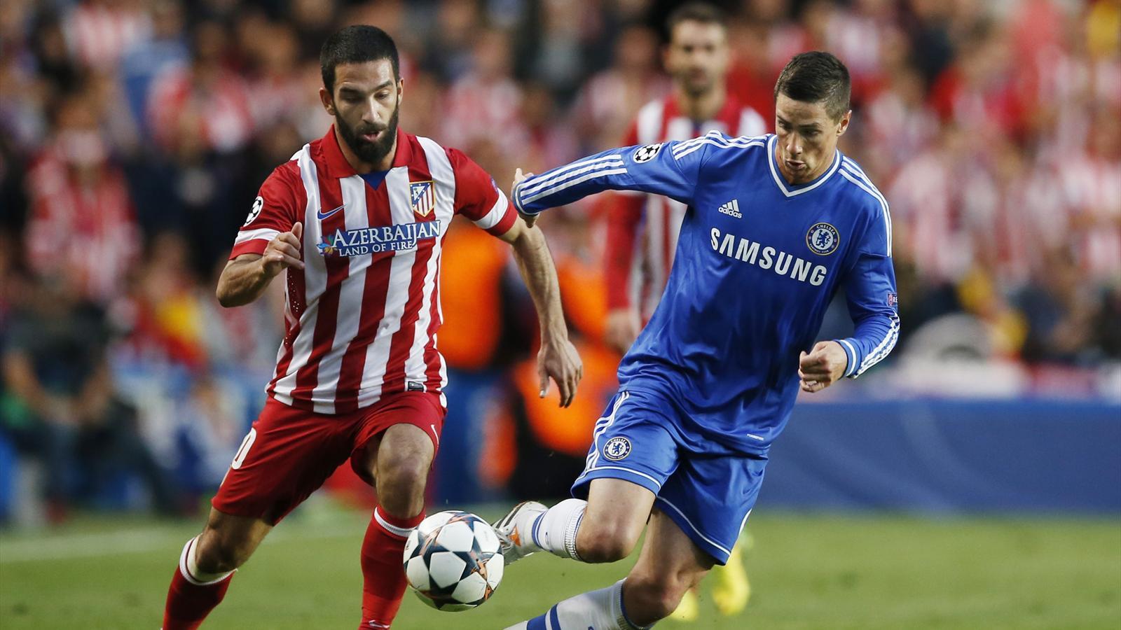 Arda Turan - Fernando Torres, Chelsea - Atletico Madrid