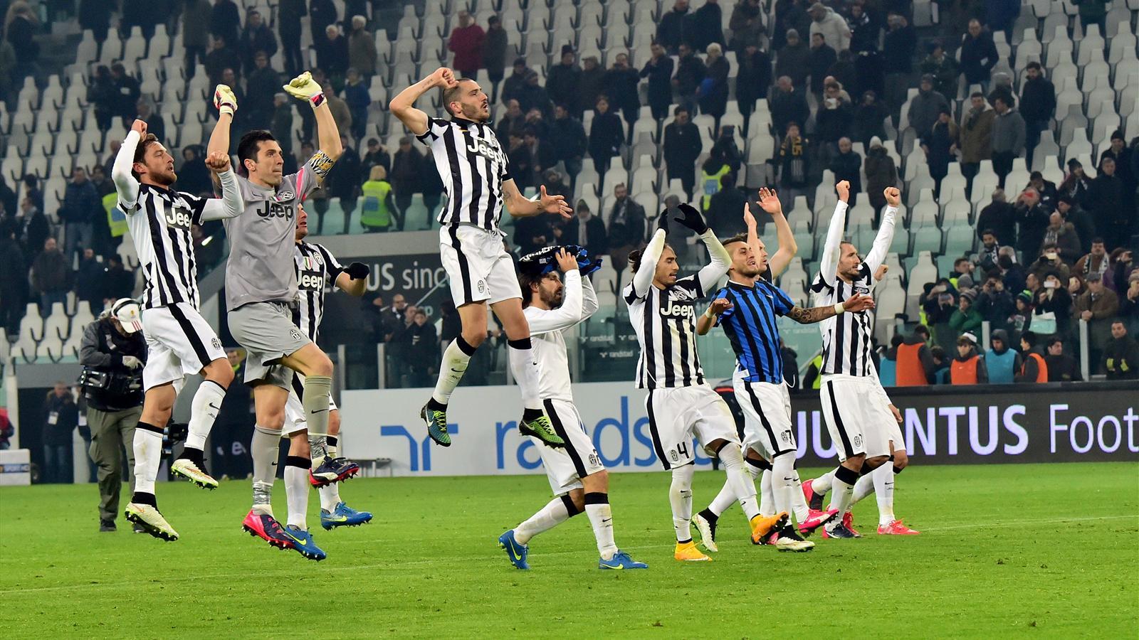 La Juventus deja el título visto para sentencia