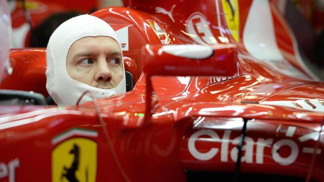 Vettel espère combler plus ou moins l'écart avec Mercedes