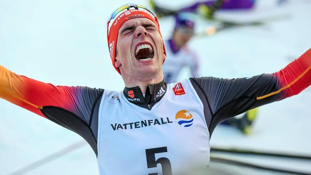 Durststrecke beendet: Rydzek feiert ersten Saisonsieg