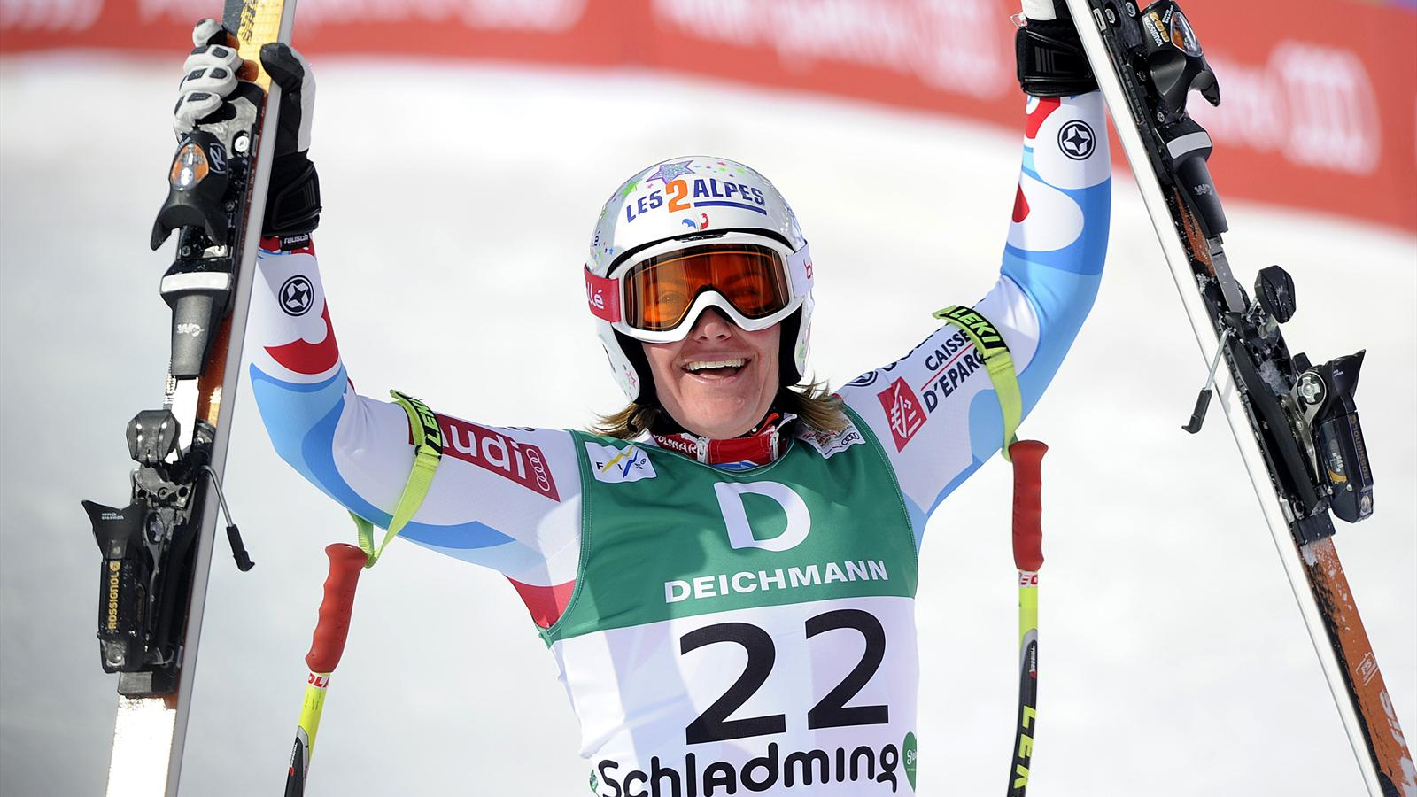 marion rolland championne du monde de descente en 2013 prend sa retraite ski alpin eurosport. Black Bedroom Furniture Sets. Home Design Ideas