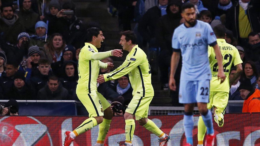 Après City-Barça (1-2), l'antisèche : City a tendu le bâton ...