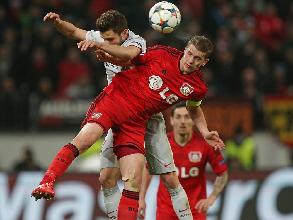 Bayer Leverkusen machte es Atlético Madrid nicht leicht