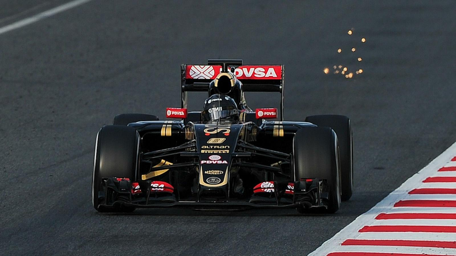 Romain Grosjean, Piloto de Formula 1, em 2015 - eurosport.com