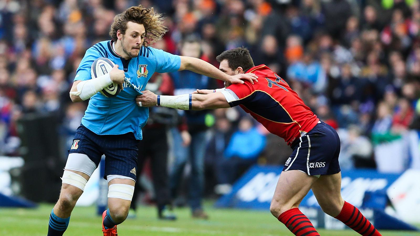 Joshua Furno face à Sean Lamont