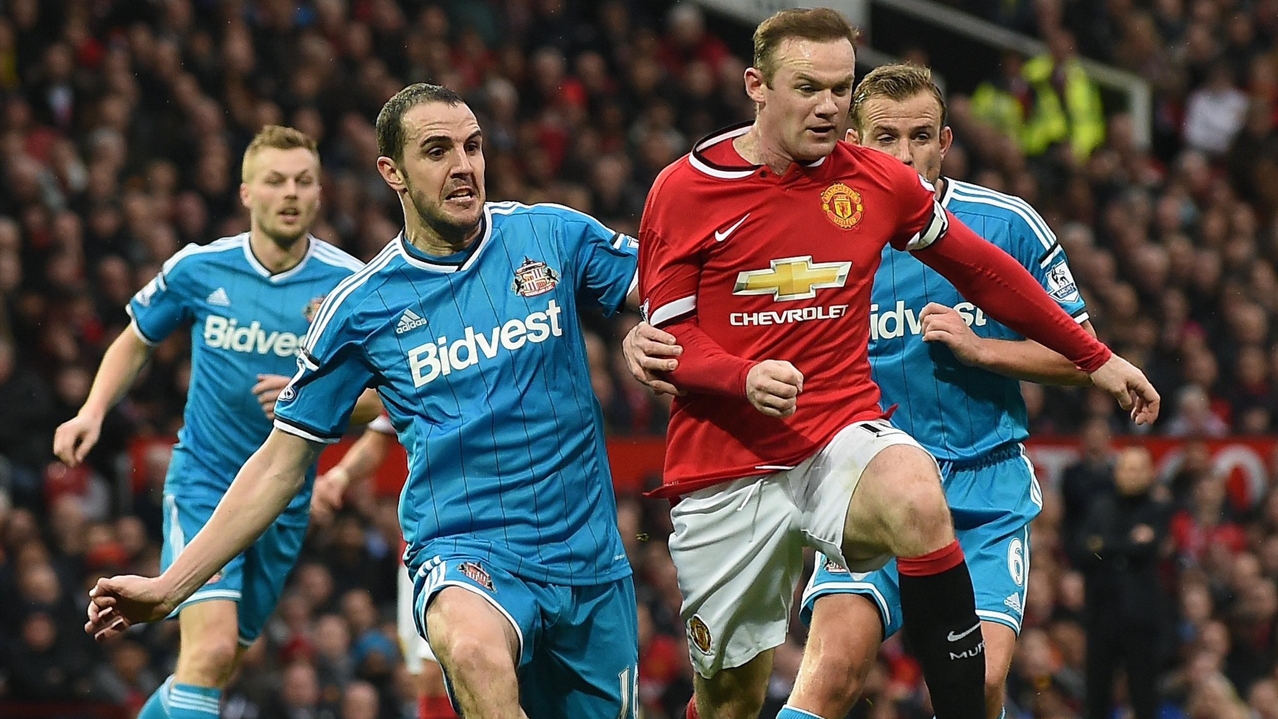 Wayne Rooney (Manchester United), double buteur face à Sunderland - 28/02/2015