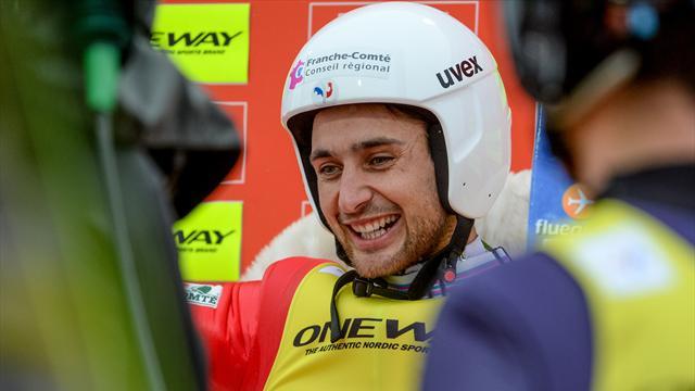 Lamy Chappuis sacré champion de France pour sa dernière course