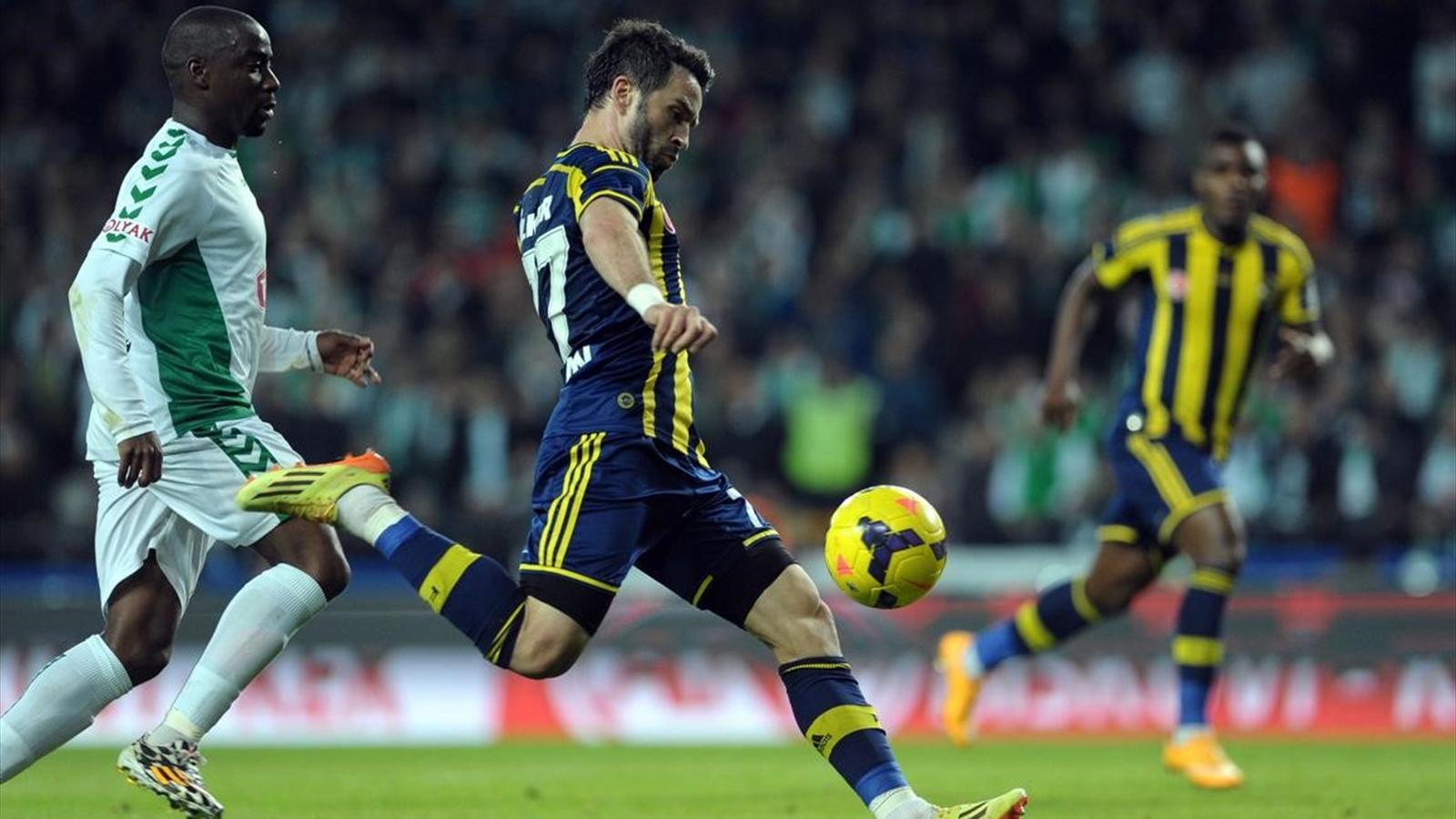 Konyaspor - Fenerbahçe (Gökhan Gönül)