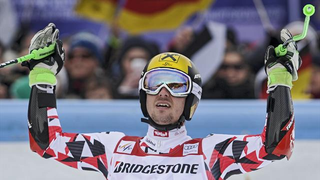 "3""28 : l'écart monstrueux entre Hirscher et son dauphin Neureuther"