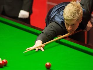 Mundial: Robertson entra de rompante-Snooker