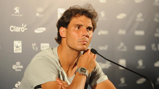 """Nadal: """"Ce n'est pas assez de dire que je suis de retour au plus haut niveau"""""""