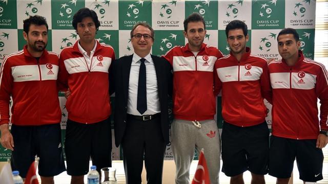 Türkiye Davis Cup'a veda etti