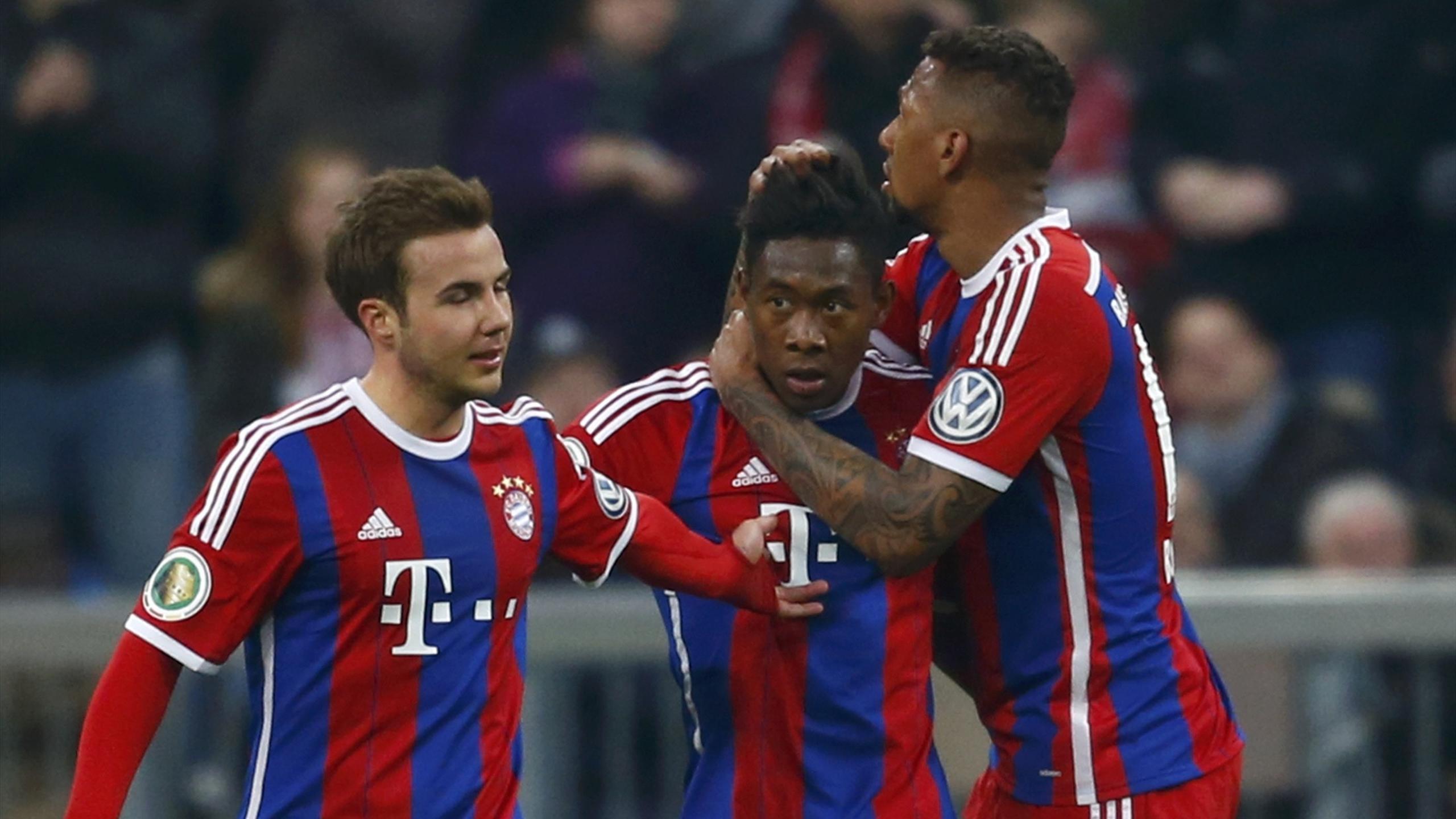 Bayern Münih - (Götze - Alaba -Boateng)