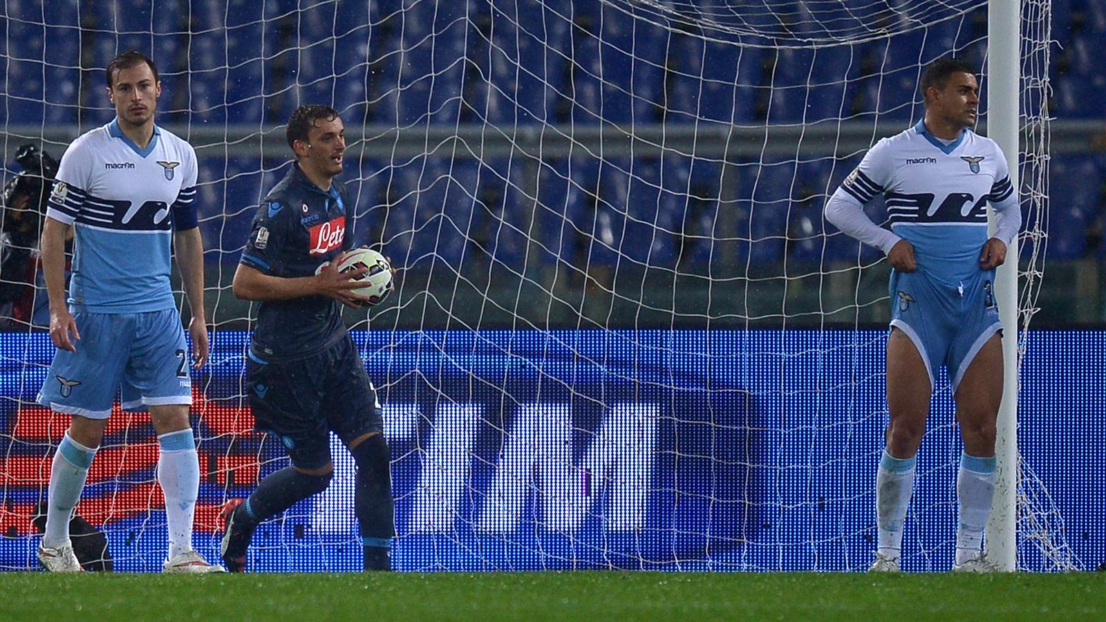 Naples arrache le match nul face à la Lazio 1-1 en demi-finale aller