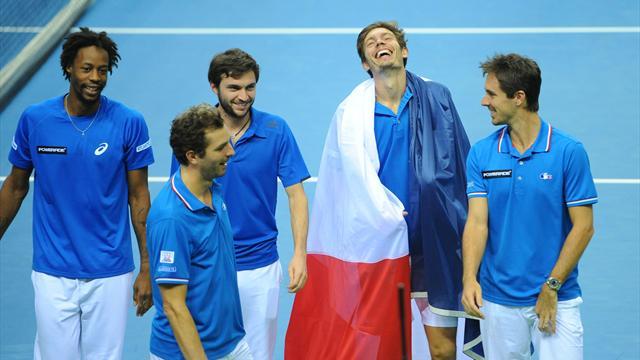 """Mahut : """"Aujourd'hui, je comprends quand on dit qu'un match de Coupe Davis c'est diff�rent"""""""