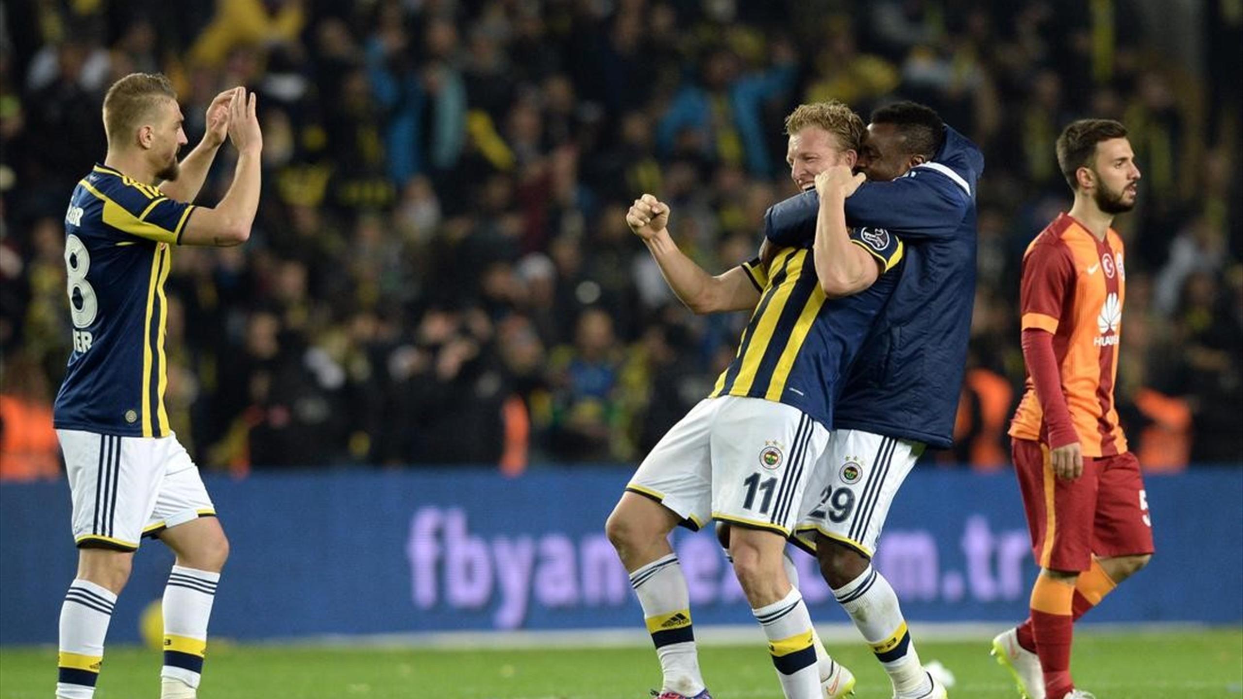 Fenerbahçe'in Kadıköy'de Galatasaray'a Yenilmediği 19 lig maçı 19