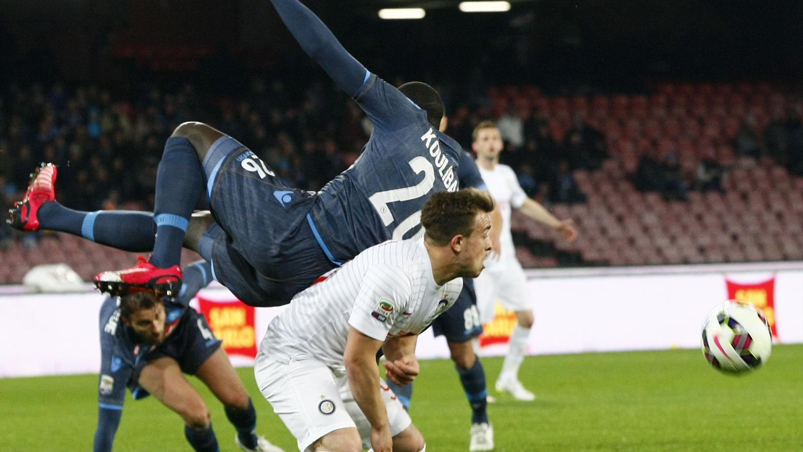 Naples 2-2 Inter : Naples a gâché, l